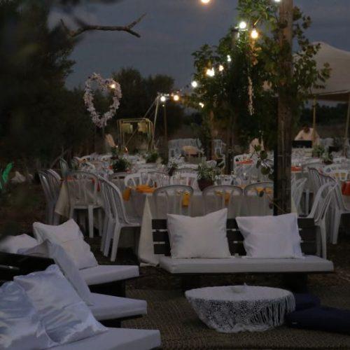 חתונה טבעונית במושב עולש